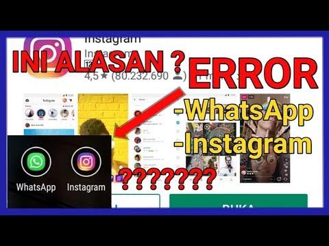 BERITA Terbaru !! Alasan WhatsApp.. Instagram.. Error ?