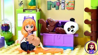 Little Mia's Jungle Themed Toddler Room - Custom Lego Friends Girls Bedroom DIY Build