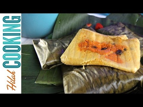 How to Make Guatemalan Tamales | Tamales Guatemaltecos | Hilah Cooking