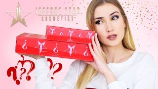 Unboxing Jeffree Star Mystery Boxes .. I