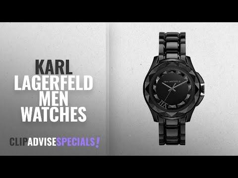 10 Best Selling Karl Lagerfeld Men Watches [2018 ]: Karl Lagerfeld Men's Watch KL1001