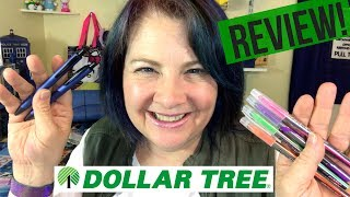 Dollar Tree Pen Review May 2017 | Gel Rollers by ProMarx
