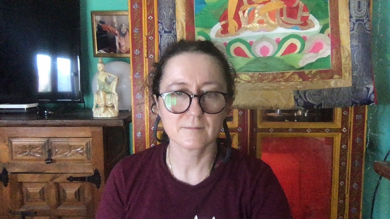 Lama Gangchen Tantric Self-Healing 2- Commentary by Lama Caroline - part 72 (EN)  praise from ManjushriNamaSanghita