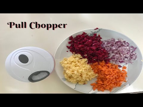 Stovekraft New Handy Mini Plastic Chopper with 3 Blades, Green - Chopper