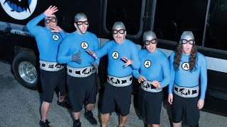 The Aquabats! in Angel Haired Rasta! 2014 Tour Encore