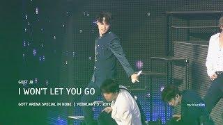 [4K] 190203 I WON'T LET YOU GO GOT7 JB