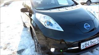 Nissan Leaf с двойной батареей