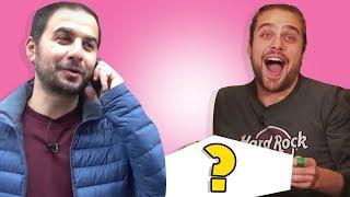 ŞANS ALIŞVERİŞİ - Telefonda Melih'i Yönet