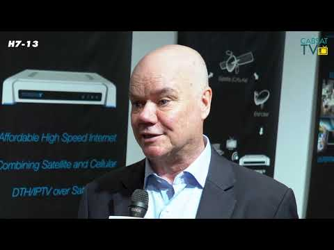 Mats Andersson from Forsway talks to CABSAT TV at #CABSAT2019