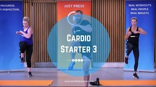 Low impact, high intensity cardio and ab workout - at home HIIT fat burning interval exercises by Body Project