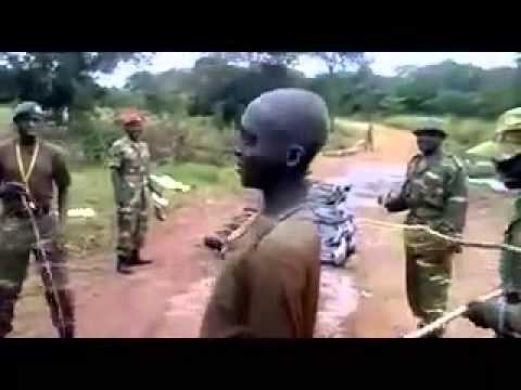How Nigerian military do their routine training