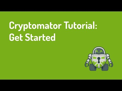 Cryptomator Tutorial: Get Started