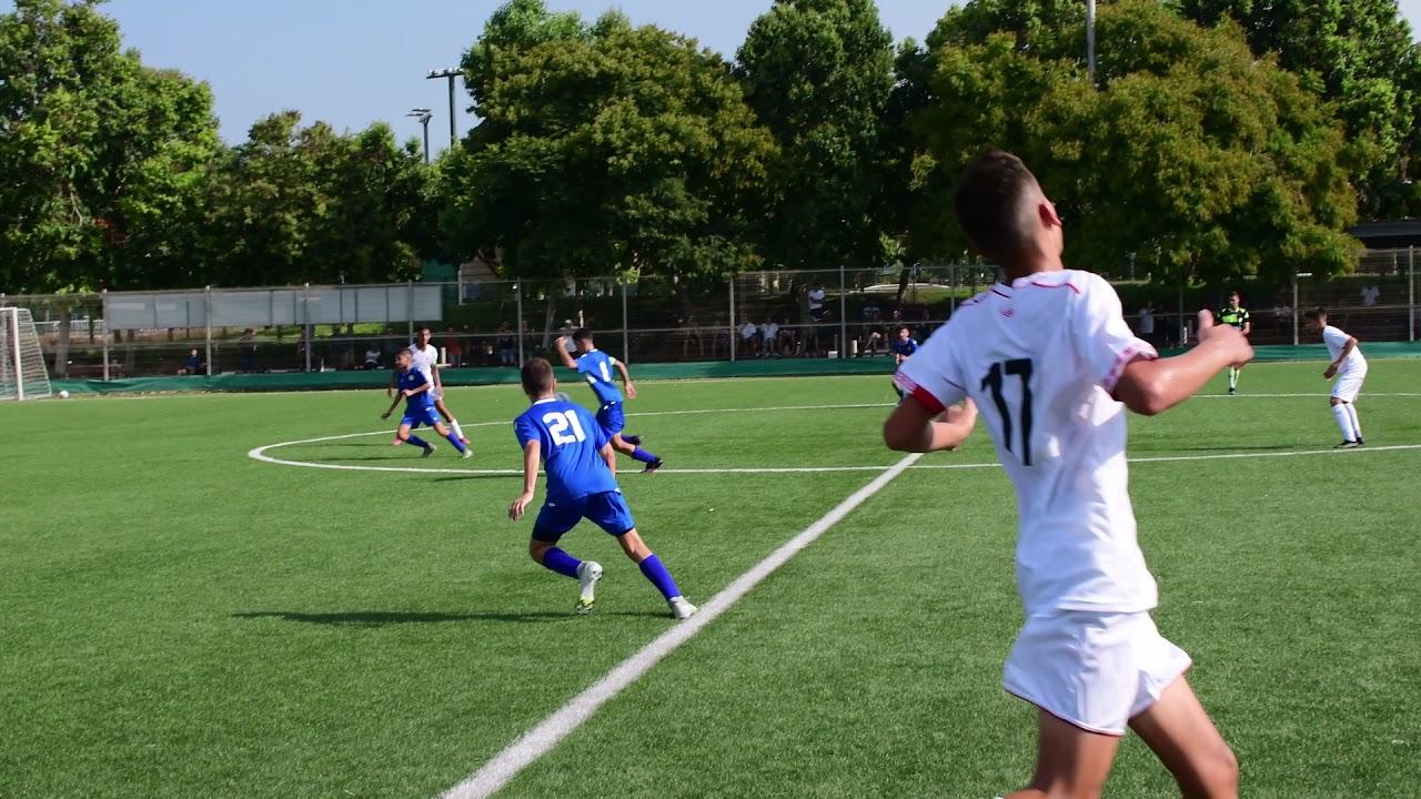 נערים ג - גביע, הפועל רמת גן מנצחת 1-3 את הרצליה