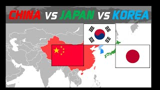 Comparing Korea, China and Japan with Graphs