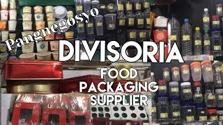 Divisoria Food Packaging Supplier