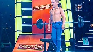 Супер интуиция. Телевизионное шоу. Косташ Андрей 10 лет / Super intuition. Show. Kostash 10 years