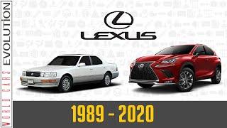 W.C.E.  Lexus Evolution (1989 - 2020)