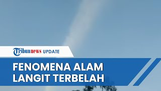 Viral Video Fenomena yang Disebut 'Langit Terbelah' & Dianggap Pertanda Gempa, Ini Penjelasan BMKG