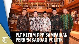 Plt Ketum PPP Sampaikan Perkembangan Politik ke BJ Habibie