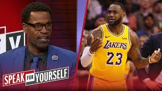 Stephen Jackson: LeBron must take 'more responsibility' for Lakers issues | NBA | SPEAK FOR YOURSELF