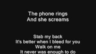 The All-American Rejects - Stab my back + Lyrics