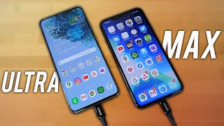 Samsung Galaxy S20 Ultra VS Apple iPhone 11 Pro Max - UNFAIR?