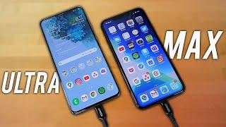 Samsung Galaxy S20 Ultra VS Apple iPhone 11 Pro Max - UNFAIR?