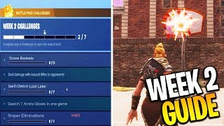 fortnite challenges week 2