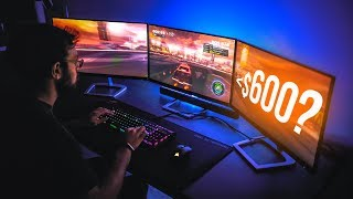 Building a 3 Monitor Setup for UNDER $600!