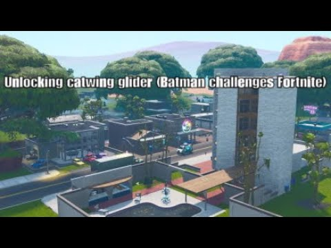 Unlocking Catwing Glider (batman Fortnite)