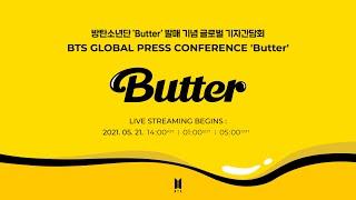 BTS (방탄소년단) Global Press Conference 'Butter' (+ENG/JPN)