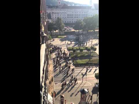 Emeute entre nationalistes hongrois et migrants à la gare de Budapest (MàJ vidéo)