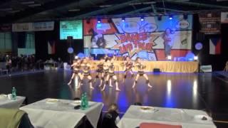 """Vzpomínka na Afriku"" choreografie show dance junior"