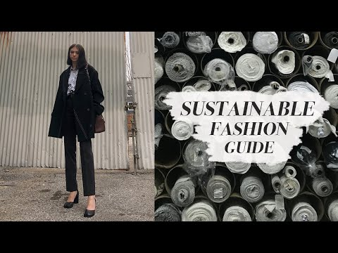 SUSTAINABLE FASHION // (what you need to know)