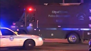 Raw: Two Police Officers Shot in Miami