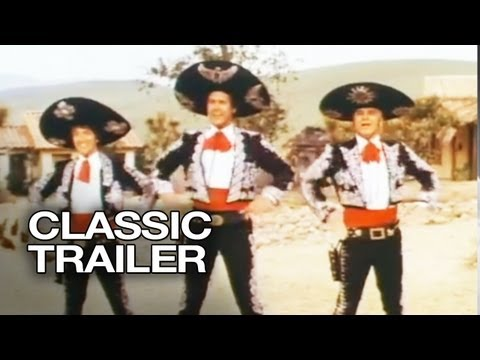 ¡Three Amigos! Official Trailer #1 - Steve Martin Movie (1986) HD