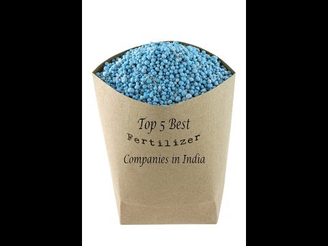 Top 5 Best Fertilizer Companies in India 2017