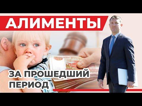 Взыскание алиментов за прошедший период, разбор статьи 107 Семейного кодекса, кейс из практики