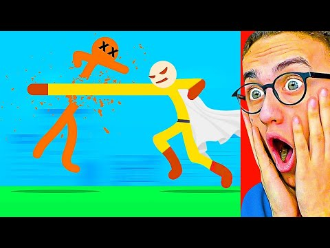 Reacting To THE WORLD'S GREATEST STICK FIGHT ANIMATION!