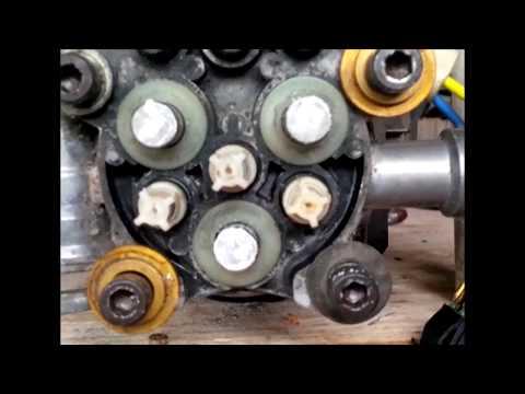 Conserto da Lavadora sem pressão ( Troca de óleo e  Pistões )