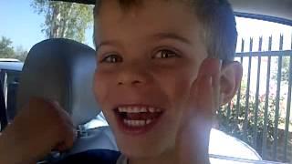 My English Boy singing Afrikaans