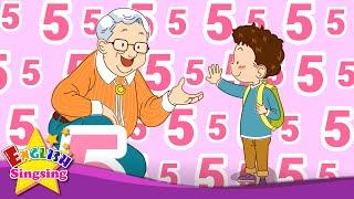 Anh ấy bao nhiêu tuổi? (Tuổi bài hát) - bài hát tiếng Anh cho trẻ em