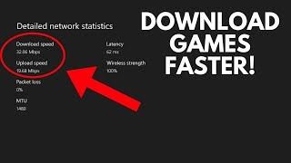 How To Double Your Xbox One Download Speeds!! Easy 2018 Tutorial