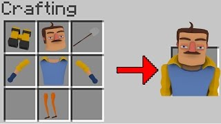Minecraft | HOW TO SUMMON THE NEIGHBOR! (Hello Neighbor in Minecraft)