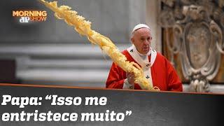 Papa dá sermão em quem se divertiu na pandemia