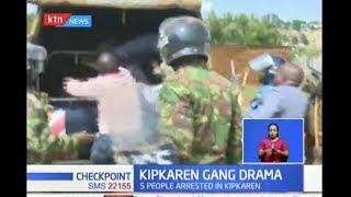 KIPKAREN GANG DRAMA: Five members of a criminal gang that has been terrorising residents arrested