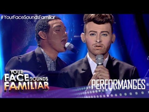 "Your Face Sounds Familiar: Michael Pangilinan as Sam Smith and John Legend - ""Lay Me Down"""