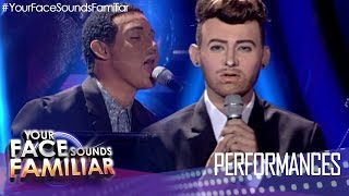 Your Face Sounds Familiar: Michael Pangilinan as Sam Smith and John Legend - 'Lay Me Down'