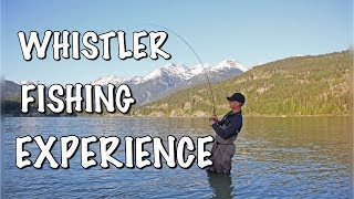 Fly Fishing in Beautiful Whistler British Columbia