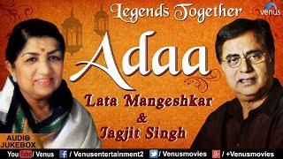 Adaa - The Legends Together   Lata Mangeshkar   - YouTube